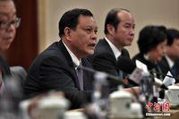广西代表团审议全国人大常委会工作报告 会后答记者问