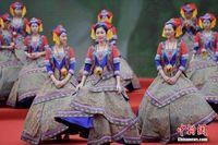 """广西民众多种活动庆祝""""三月三"""""""