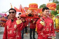 壮族始祖布洛陀祭祀大典在广西田阳举行