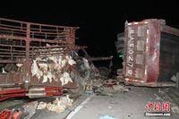南宁绕城高速突发重大交通事故致10死1伤