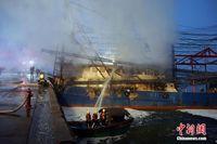 广西北海一渔船起火 南沙作业计划被搁置