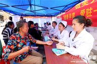 广西融安护士山区义诊过护士节