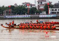 广西容县举办中国侨乡国际龙舟邀请赛