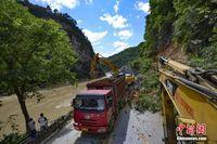 广西龙胜县全力开展洪水灾后救灾工作
