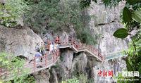 广西融安:山水旅游受青睐