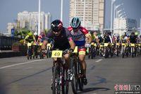 环广西公路自行车世界巡回赛踩场预热