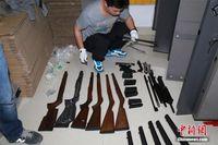 广西侦破特大跨国网络贩枪案 警方逮捕41人