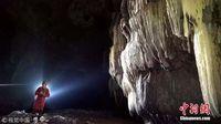 广西河池洞穴内现珍稀水生物 受污染立即死亡