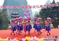 中国·靖西2018年新春民俗文化旅游节开幕