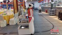 """88必发手机网页官网南宁一餐厅拥有20名机器人""""服务员"""""""
