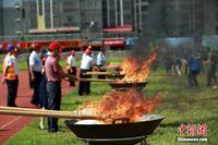 广西禁毒大会柳州场4000余人参加 现场焚烧毒品40公斤