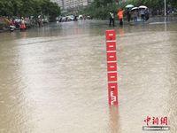 """88必发手机网页官网南宁遇强降雨 城区多地成""""汪洋"""""""