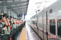 武警柳州支队200余名老兵告别军旅
