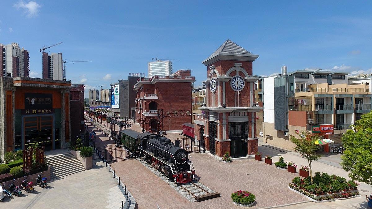 广西首个民国文化小镇在容县落成