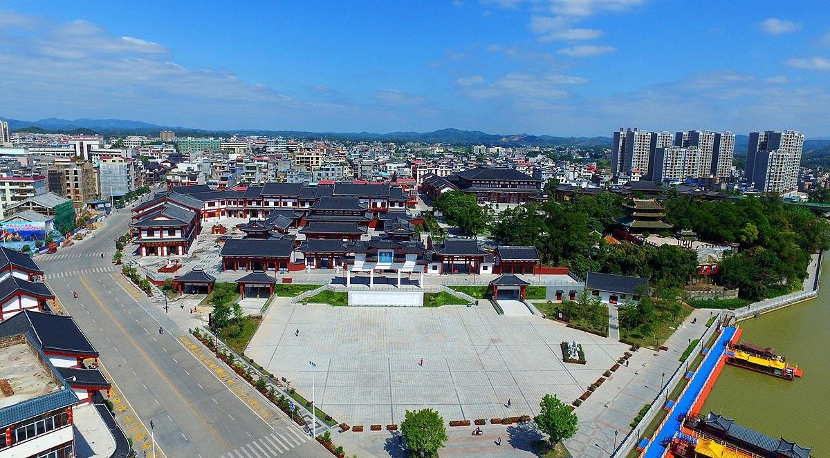 容县大力推进旅游重大项目建设