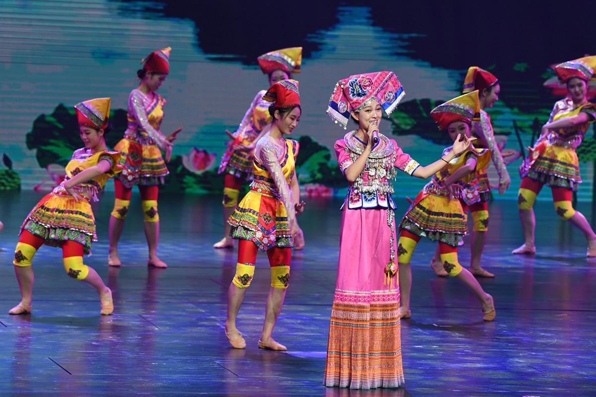 2018民歌节晚会在广西文化艺术中心精彩上演
