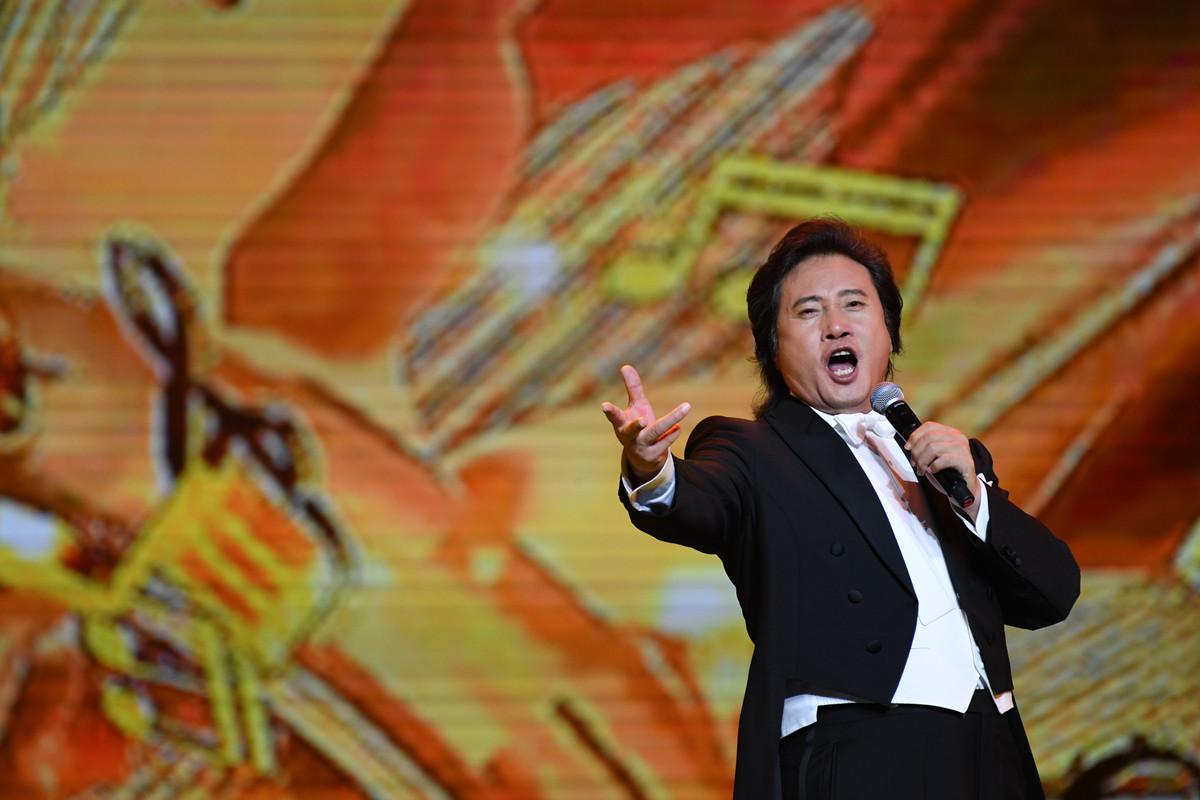 著名歌唱家戴玉强献唱第20届南宁民歌节晚会