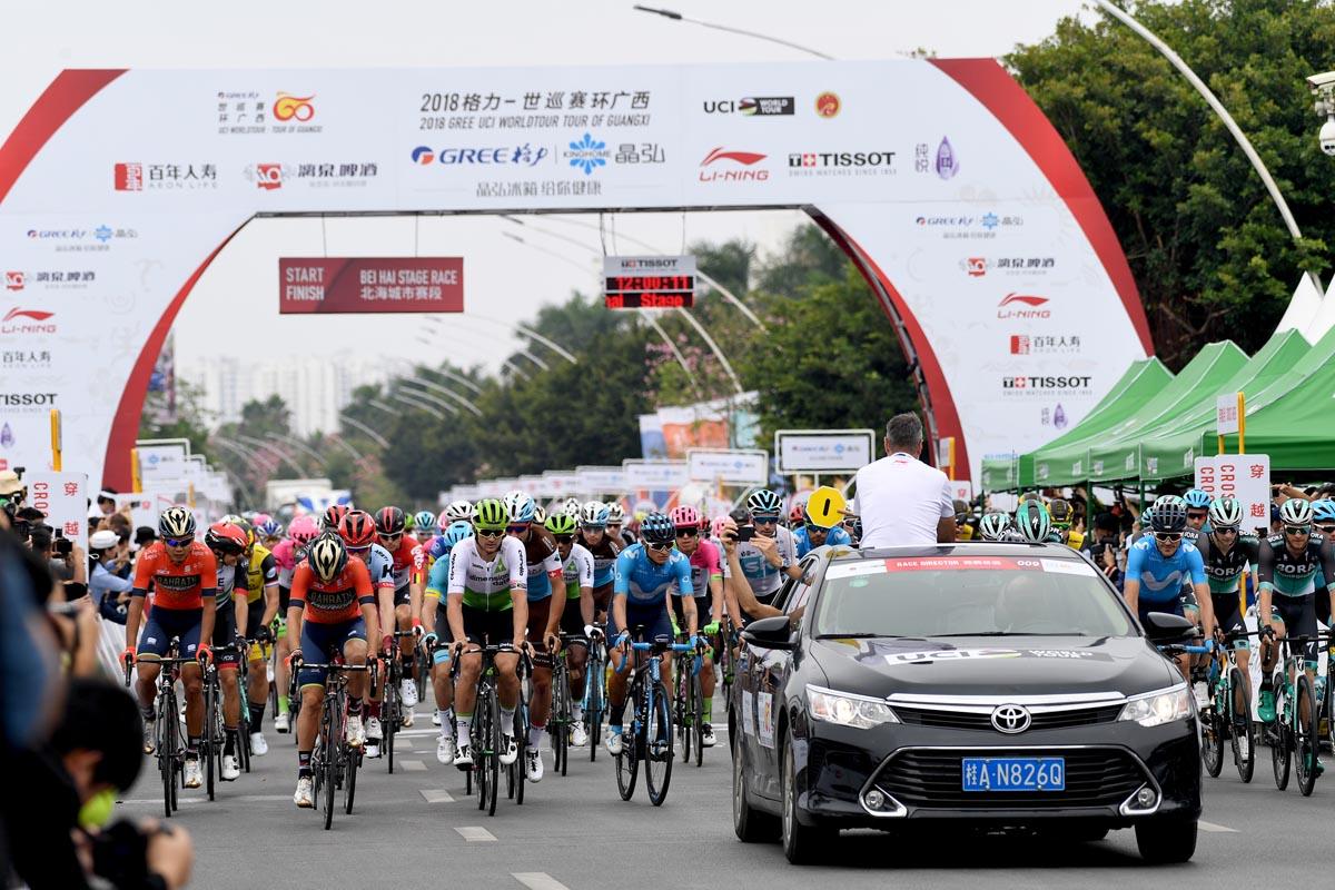 2018环广西国际公路自行车赛揭幕 顶级车手激烈角逐
