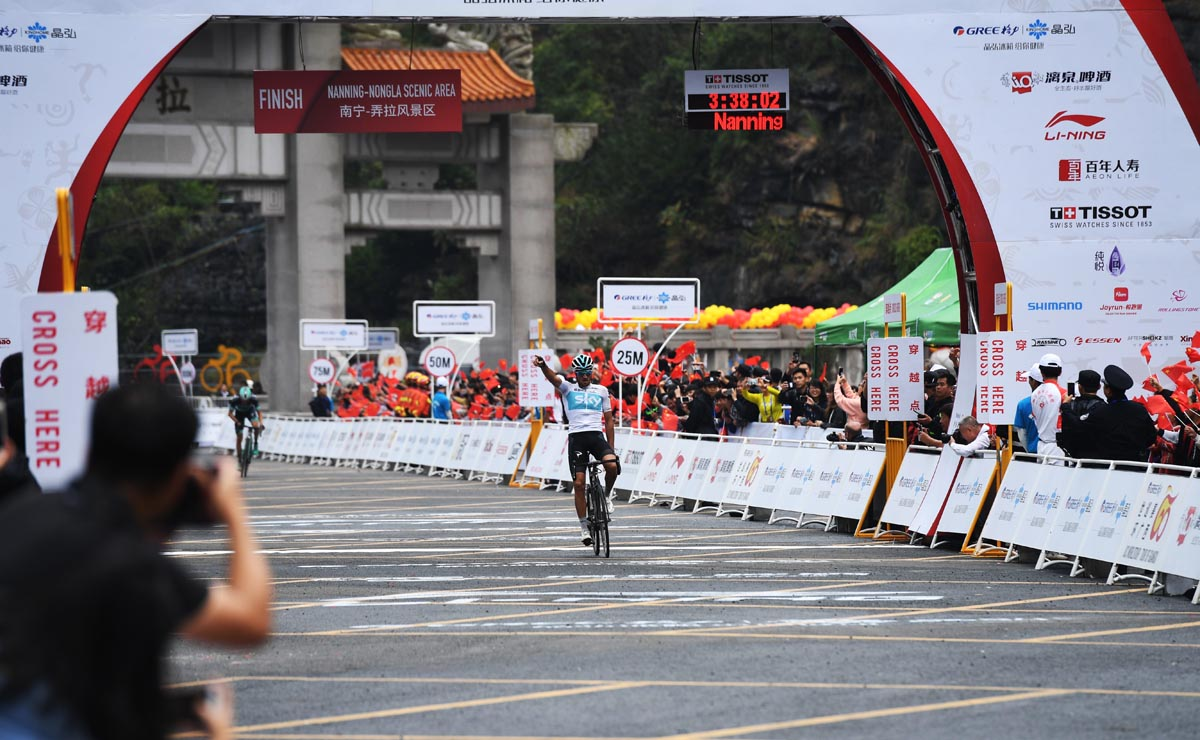环广西公路自行车世界巡回赛:莫斯孔成总冠军热门