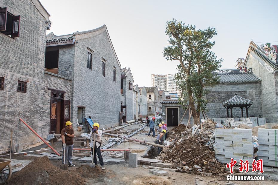 """广西南宁""""三街两巷""""历史文化街区改造项目雏形初现"""