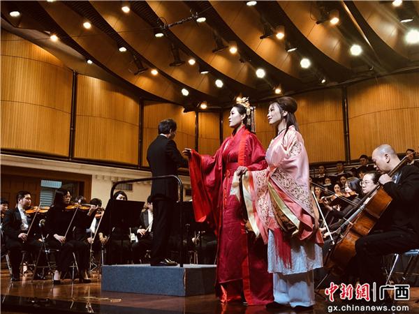 民族歌剧《大汉海路》音乐会版在88必发手机网页官网艺术学院首演