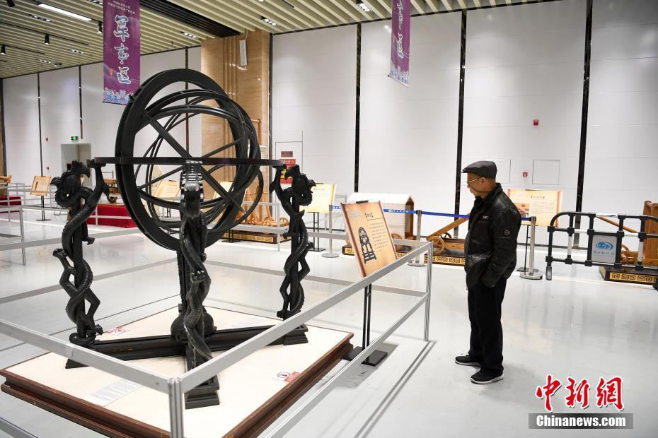 中国古代科技展亮相南宁