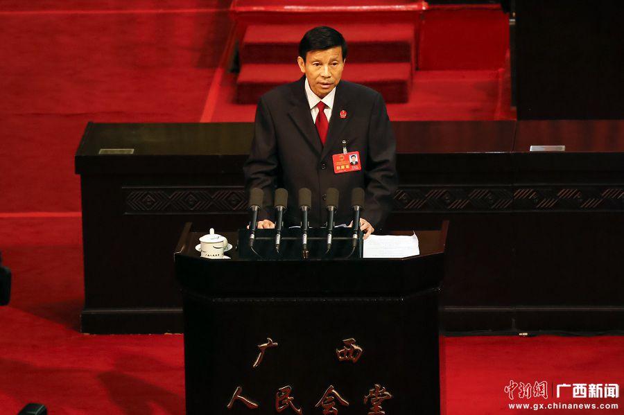 罗殿龙作广西自治区高级人民法院工作报告