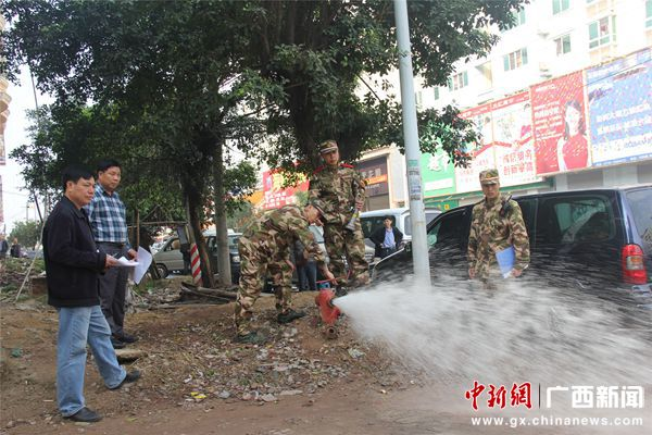 东兴市新增78具市政消火栓提速国门灭火救援工作