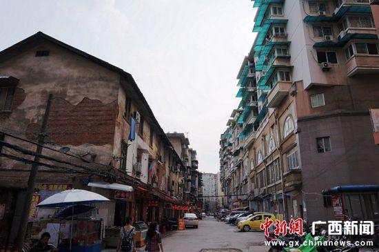 """广西桂林的""""80年代老房子"""""""
